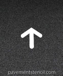 Jiffy Lube arrow stencil